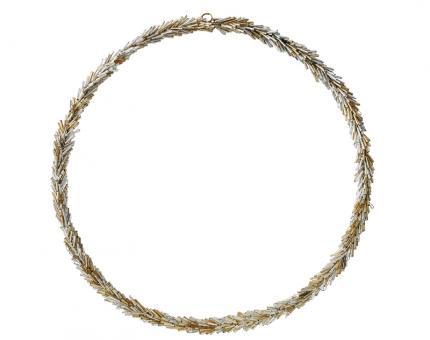 Gift Company Kranz Hey 30x30 cm Perlen gold