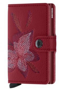 Secrid Miniwallet Stitched Magnolia Rosso