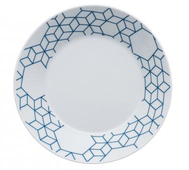 Arzberg Tric Vivid Bloom Suppenschale 21 cm Pattern Blue