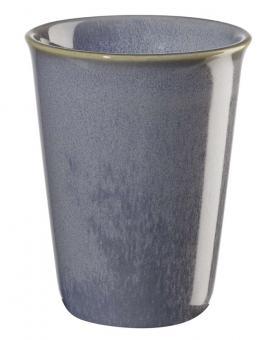 ASA Selection Coppetta Becher Cappuccino Blau Ø 8 cm, H 10,5 cm, 0,25 L