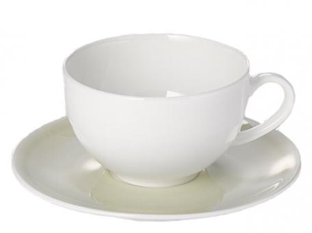 Dibbern Pastell Untertasse 0,11 L Khaki