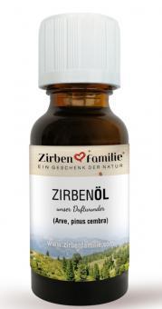 ZirbenFamilie Original Zirben Öl 20 ml