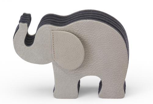 Graf von Faber-Castell Elefant grau mittel