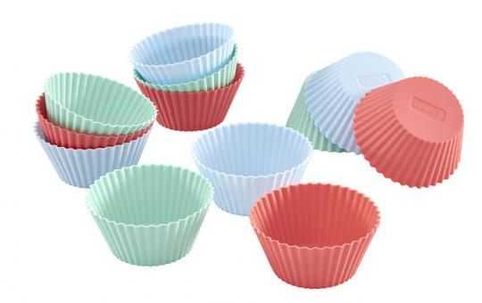 Lurch Flexiform Muffinliner 12er Set Pastel Mix