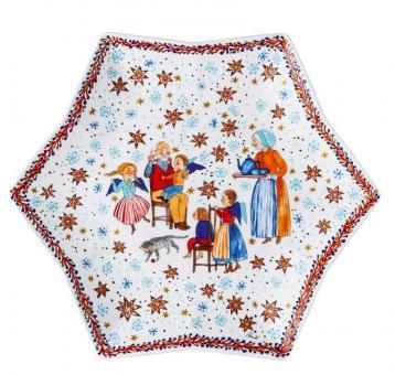 Hutschenreuther Sternschale 34 cm Sammelkollektion 2020 Weihnachtsbäckerei