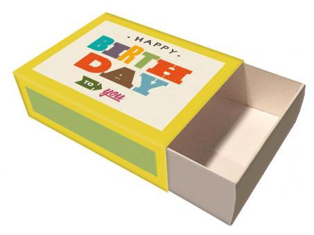 chic.mic Box L Typo Birthday 96x128x40 mm