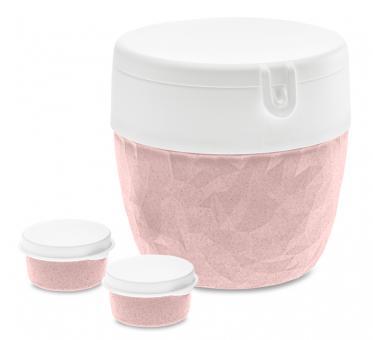 Koziol Bentobox Club organic pink