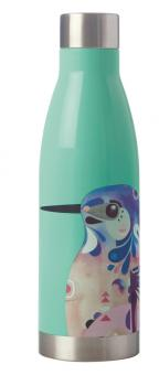 Maxwell & Williams Trinkflasche 500 ml Azure Kingfisher Pete Cromer