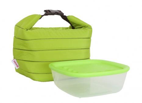 Guzzini Isoliertasche mit Frischebehälter grün