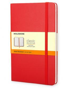 Moleskine Notizbuch P/A6 Liniert Hard Cover Scharlachrot