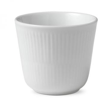 Royal Copenhagen White Fluted Becher Thermo 26 cl