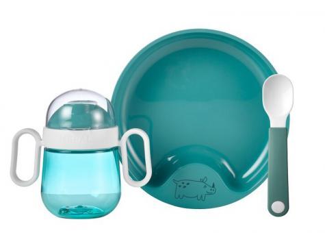 Mepal Set Babygeschirr Mio 3-tlg. Deep Turquoise
