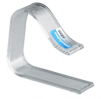 Hansi TT-Klammer Plexiglas 4 Stk. Tischplatten bis 45 mm