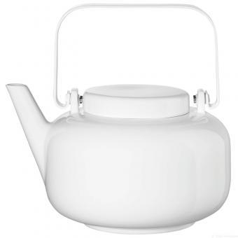 ASA Selection Teekanne inkl. Edelstahlfilter Weiß Whiteglossy