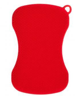 Cookline Swisch Schwamm- und Fusselbürste tailliert rot