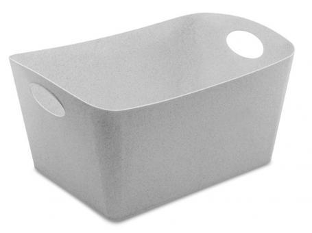 Koziol Boxxx L Aufbewahrungsbox 15 L organic grey