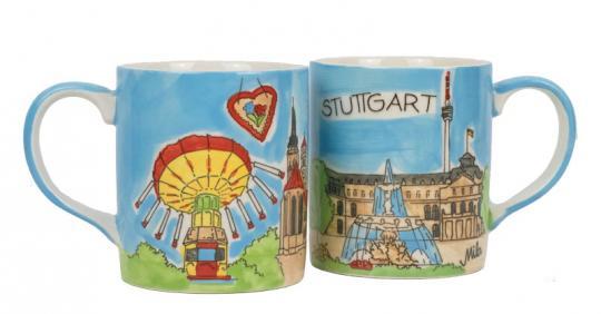 Mila Städtebecher Stuttgart Karussell
