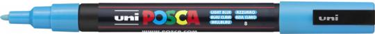 Faber-Castell Marker Uni Posa Pc-3M hellblau