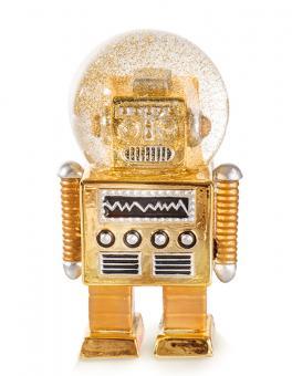 Donkey Glitzerkugel Summerglobe The Robot gold