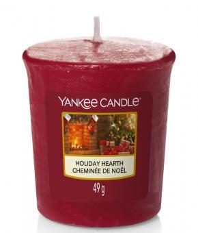 Yankee Candle Votivkerze Holiday Hearth