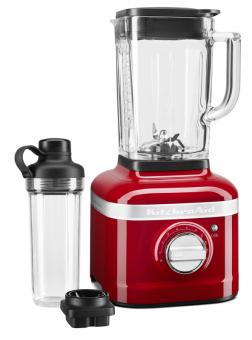 KitchenAid Artisan Standmixer K400 Artisan Liebesapfelrot mit Behälter zum Mitnehmen