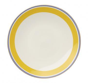 Dibbern Capri Teller 17 cm Gelb / Blau