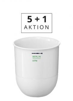 KPM Berlin Aktion 5+1 LAB Becher 'No. 0'