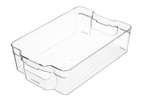 KitchenCraft Kühlschrank-Vorratsbehälter mittelgroß 21x31,5x9 cm