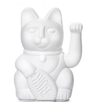 Donkey Winkekatze Lucky Cat White