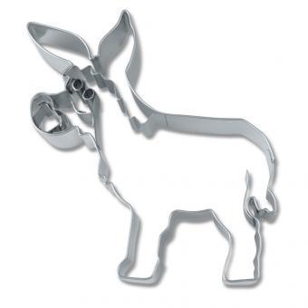 Städter Präge-Ausstecher Esel 7,5 cm Edelstahl