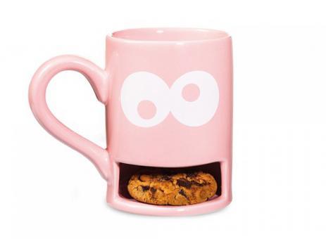 Donkey Keks-Becher Mug Monster pink