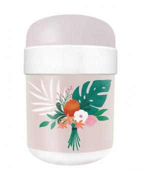 chic.mic Lunchpot Ø 9 cm Bioloco Plant tropical flowers