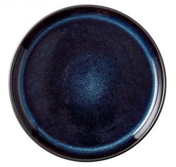 Bitz Brotteller 17 cm schwarz/dunkelblau