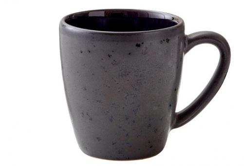 Bitz Mug 19 cl Black/darkblue