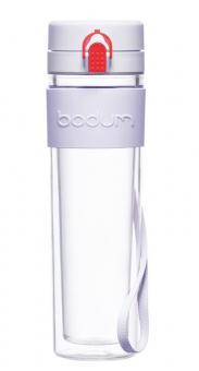 Bodum Wasserflasche 0,45 L Tritan doppelwandig Bistro verbena