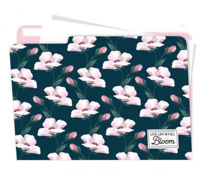 Legami Set mit 5 Aktendeckeln Blume Blühen