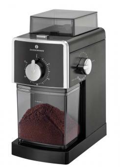 Zassenhaus Elektrische Kaffeemühle Kingston schwarz
