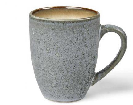 Bitz Mug 30 cl grau/creme