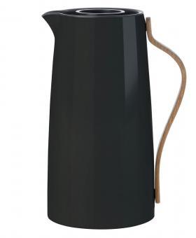 Stelton Emma Isolierkanne Kaffee 1,2 L schwarz