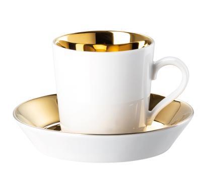 Arzberg Tric Gold Titanisiert Espresso-/Mokkatasse 2-tlg.