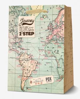 Legami Geschenktüte Medium Map