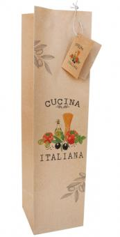 Paperproducts Design Flaschentüte Cucina Italiana
