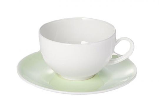 Dibbern Pastell Untertasse 0,20 L/0,25 L Mint