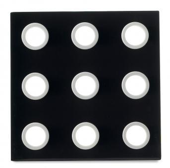Mepal Topfuntersetzer Domino Schwarz