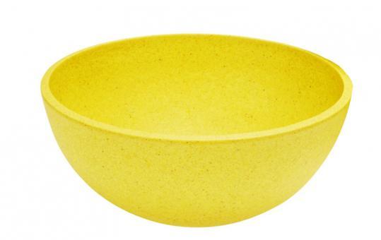 Magu Natur-Design Schüssel 24 cm gelb
