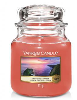 Yankee Candle Kerze mittel Cliffside Sunrise