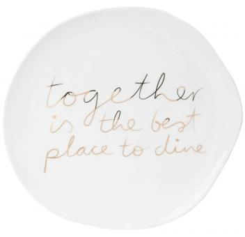 Räder Dining Mix & Match Teller Together Is The Best, D:22,5 cm
