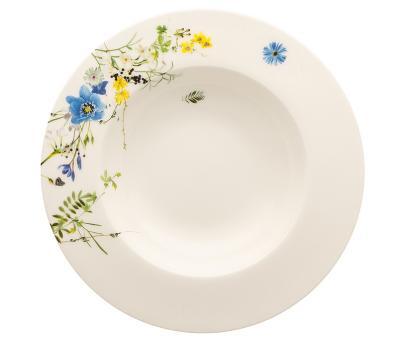 Rosenthal Selection Brillance Fleurs des Alpes Suppenteller 23 cm Fahne