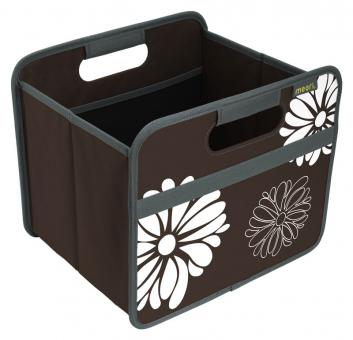 Meori Faltbox 15L Classic Small Kakao Braun/Blumen