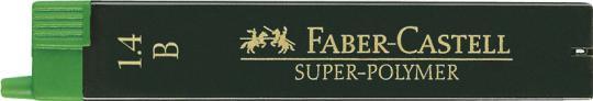 Faber-Castell Feinmine Super Polymer 1,4 mm B 6 Stk.